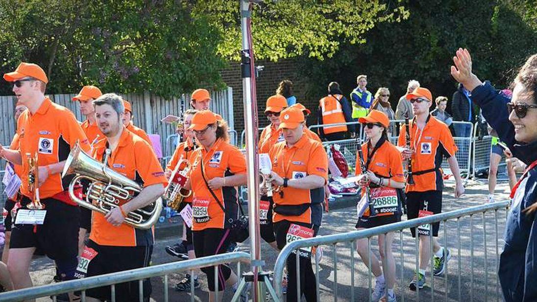 2014 London Marathon.