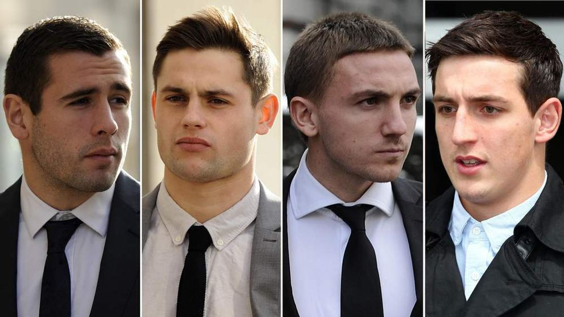Footballers sex attack case