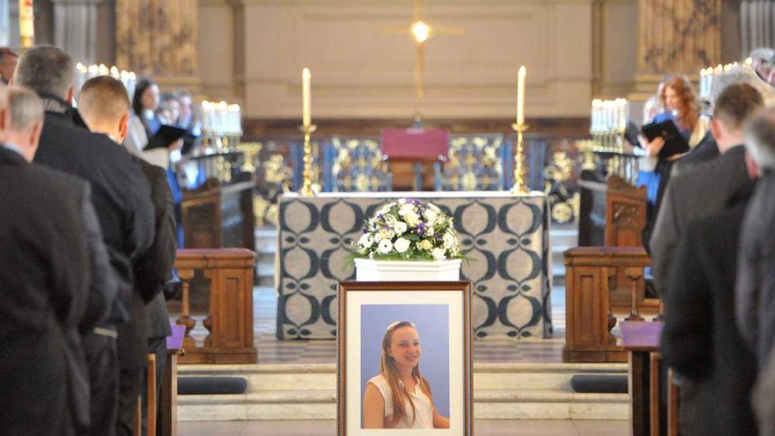 Christina Edkins funeral