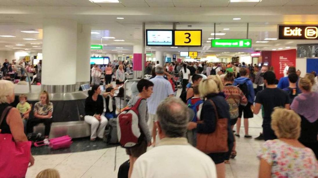 Gatwick baggage delays