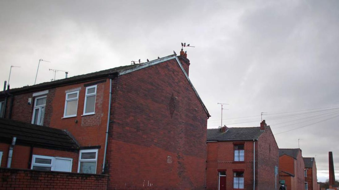 Terraced houses in Rochdale
