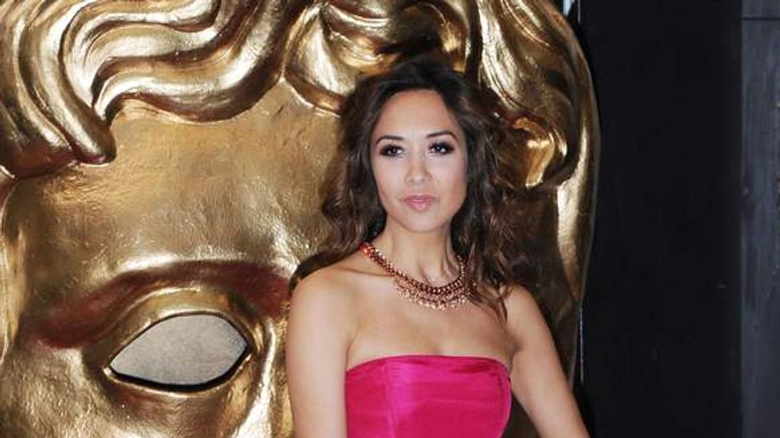 Myleene Klass attends the British Academy Children's Awards in November 2013