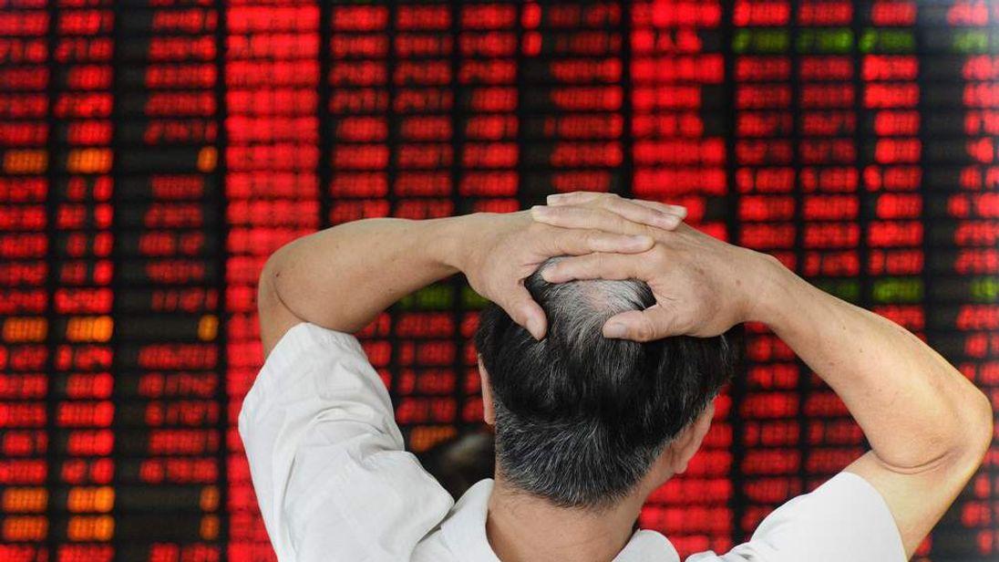 Stock market jitters