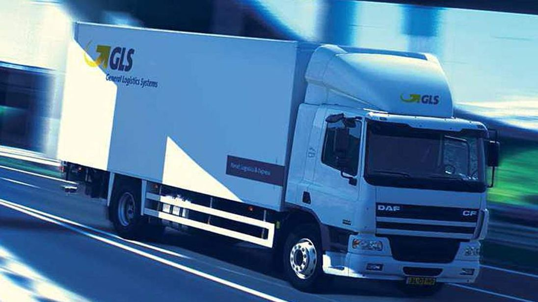 GLS Delivery Truck