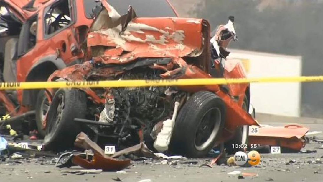 Wrong-Way Crash In California