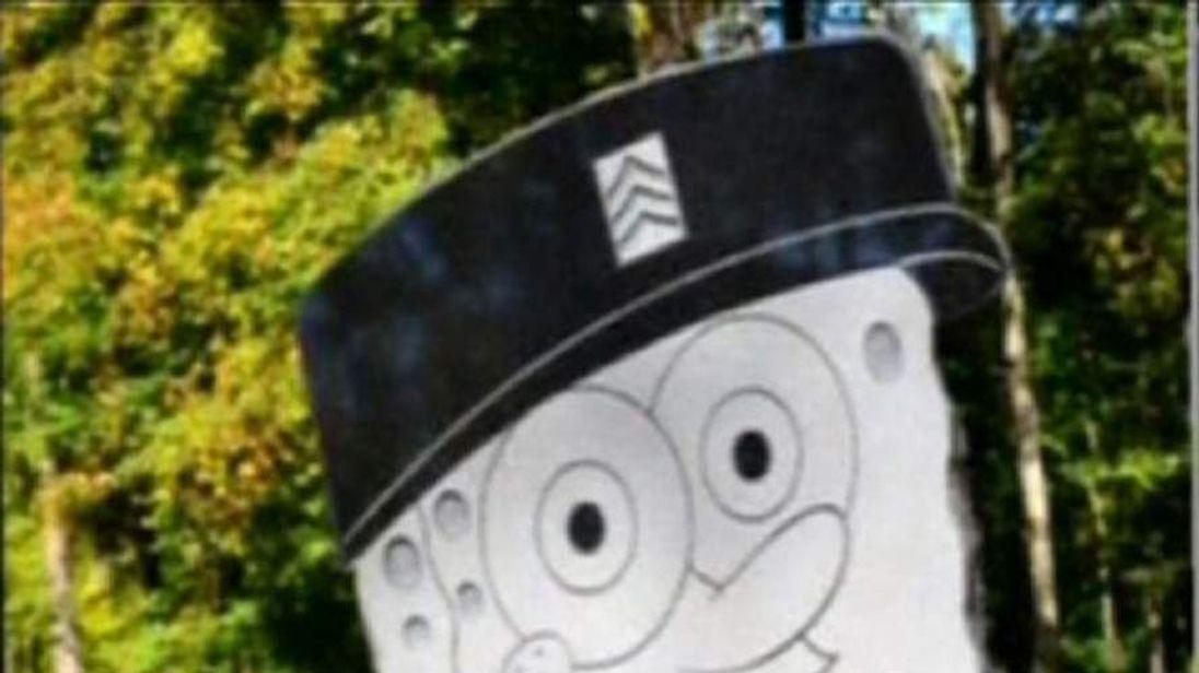 SpongeBob headstone row