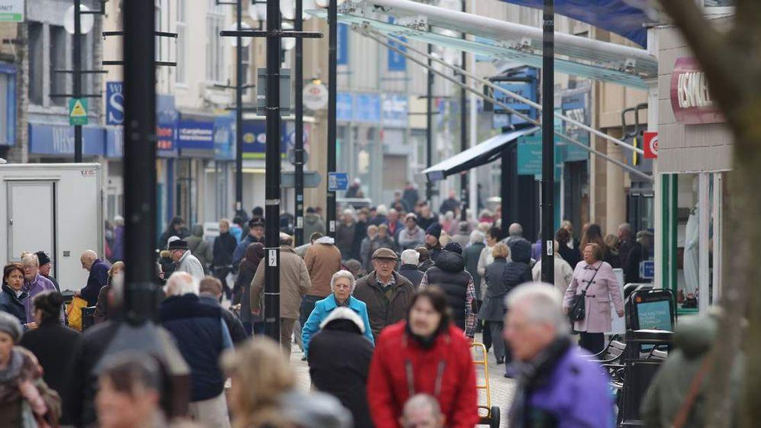 Weston-super-Mare High Street