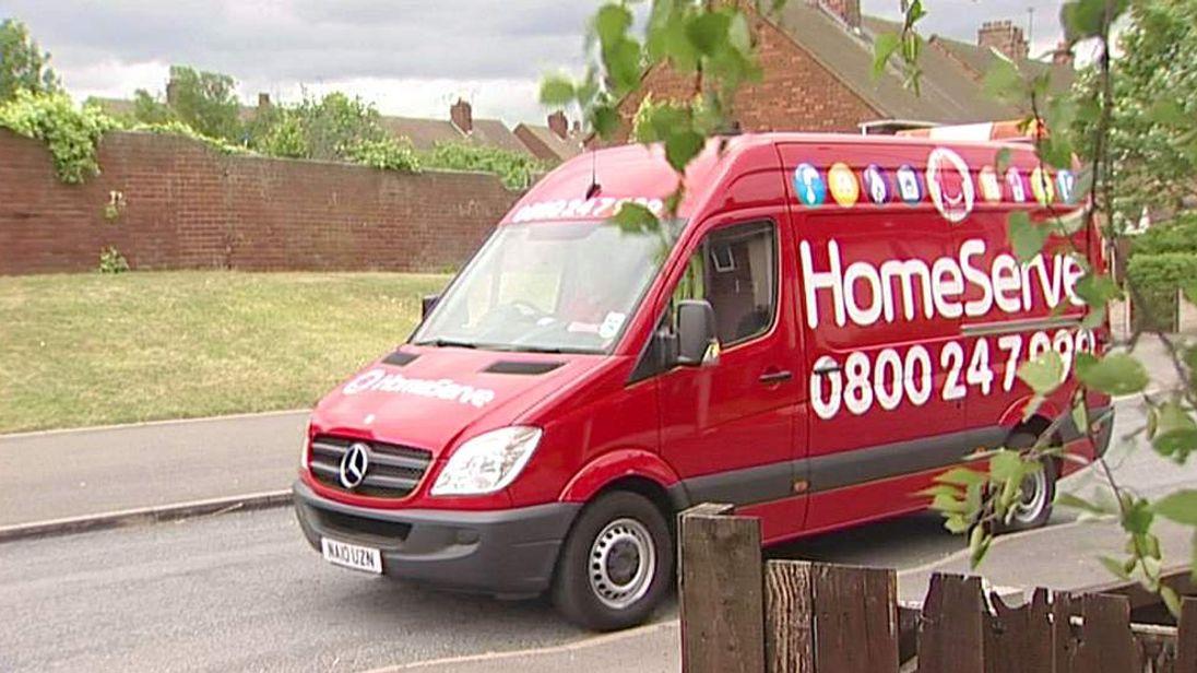 HomeServe van