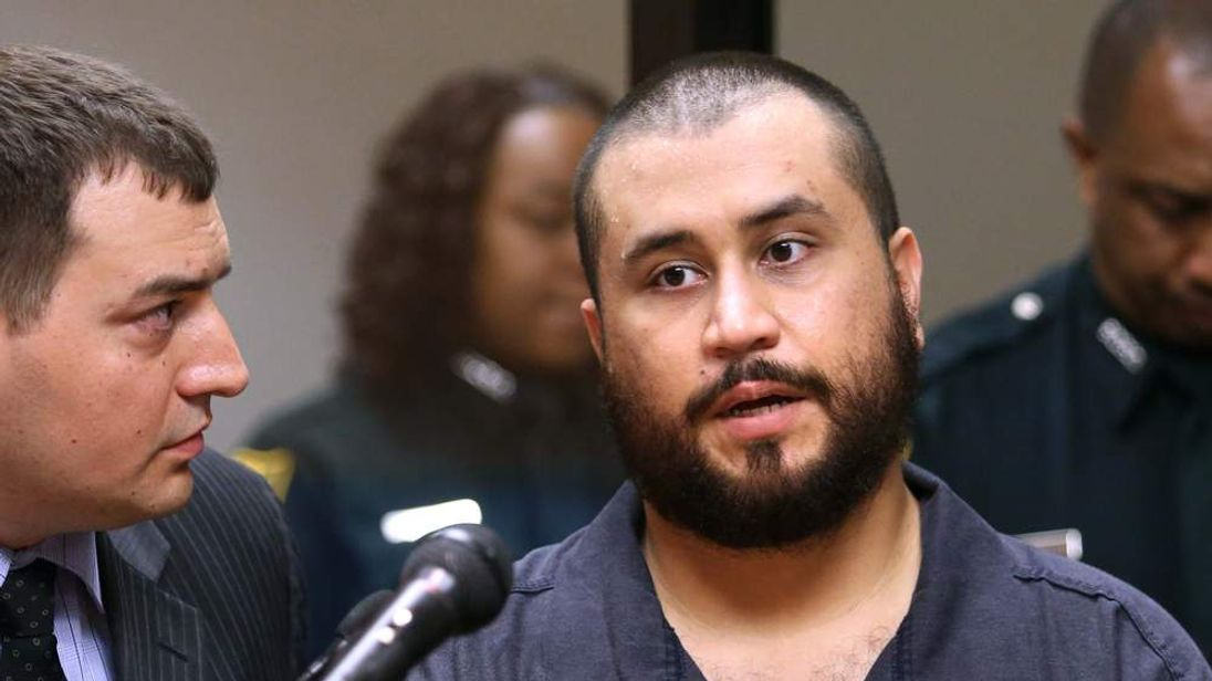 George Zimmerman the acquitted shooter in the death of Trayvon Martin, answers questions from a Seminole circuit judge