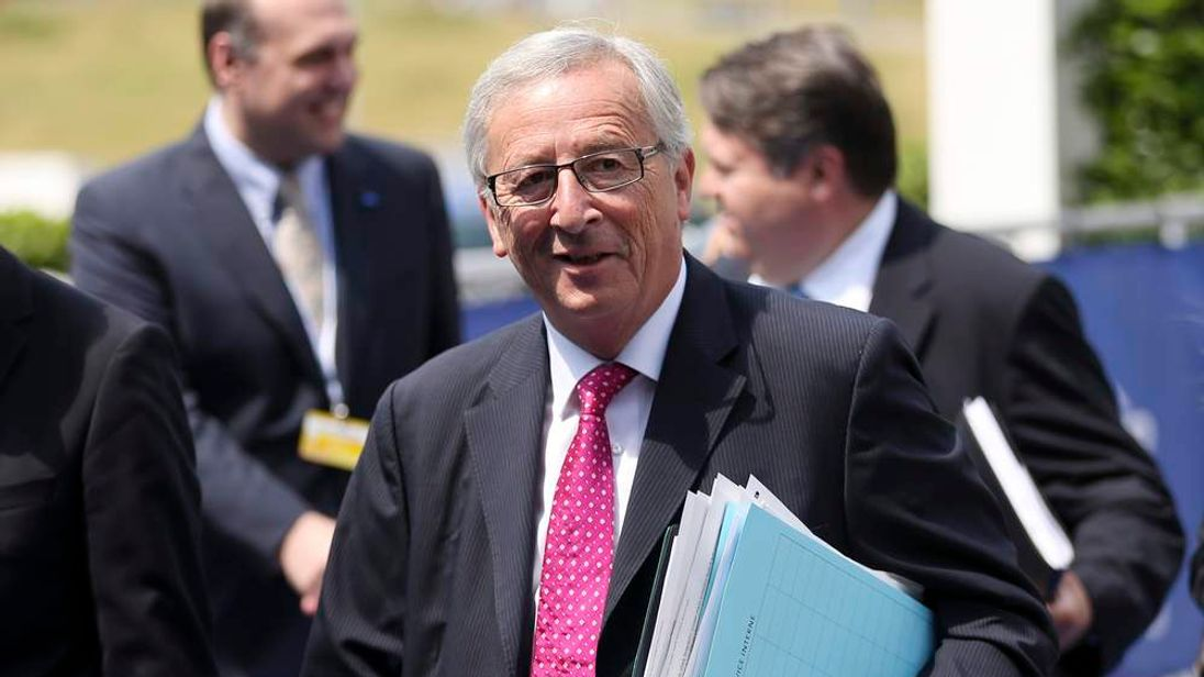 Candidate for the European Commission presidency Jean-Claude Juncker