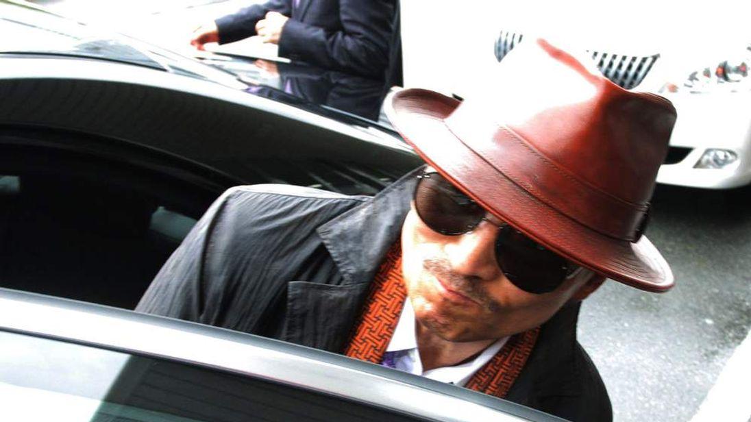 Kenichi Shinoda, the boss of Japan's largest yakuza gang