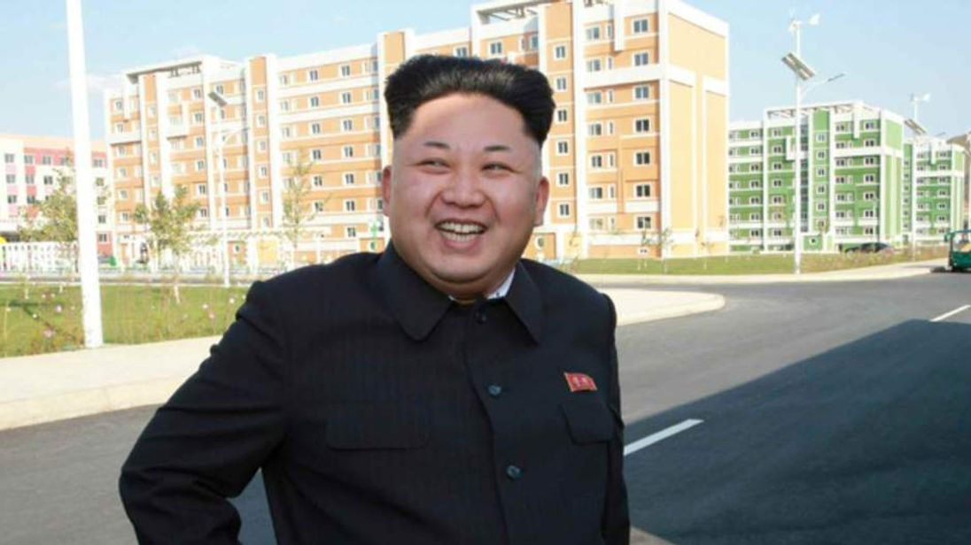 Kim Jong-Un Latest Images From Newspaper