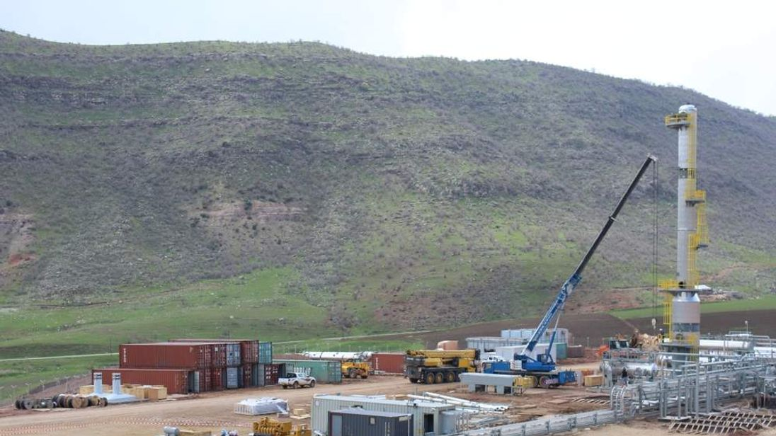 Drilling by Gulf Keystone in Kurdistan