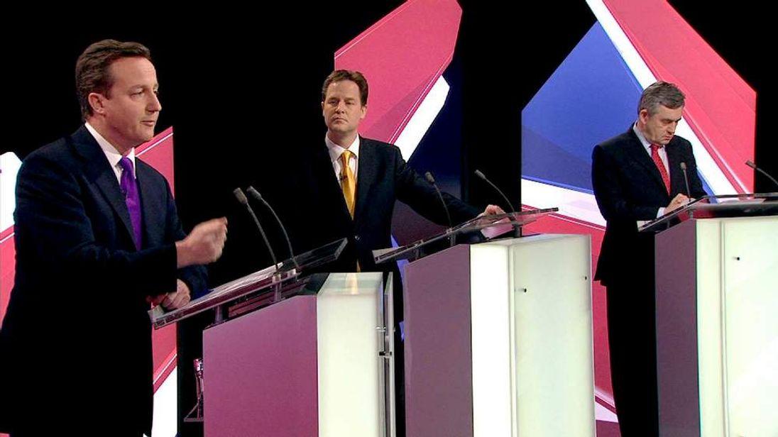 Second leaders debate 2010