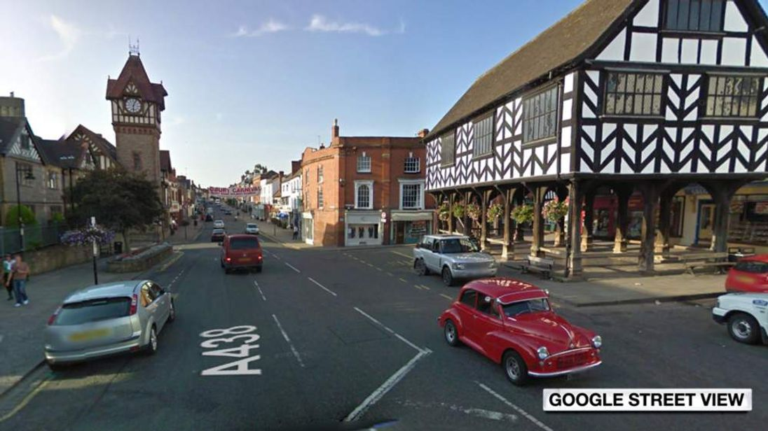 The High Street in Ledbury, Herefordshire. Pic: Google Street View