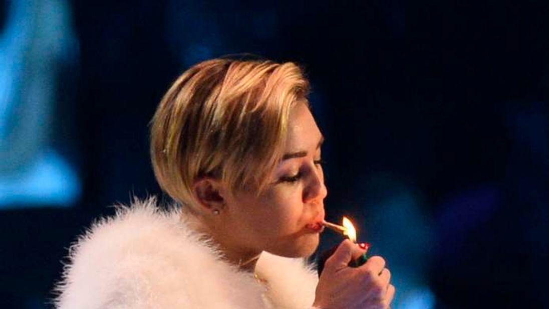 Miley Cyrus at MTV EMAs