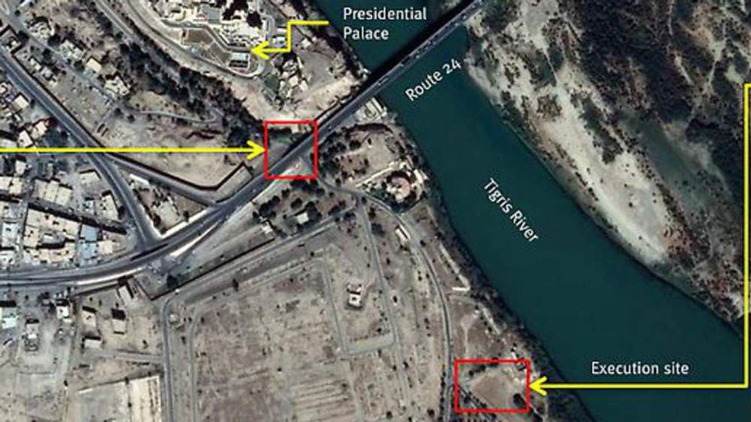 Iraq satellite images