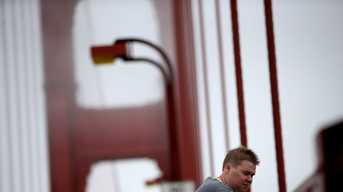Golden Gate Bridge Highway And Transportation Board Consider Suicide Net For Bridge