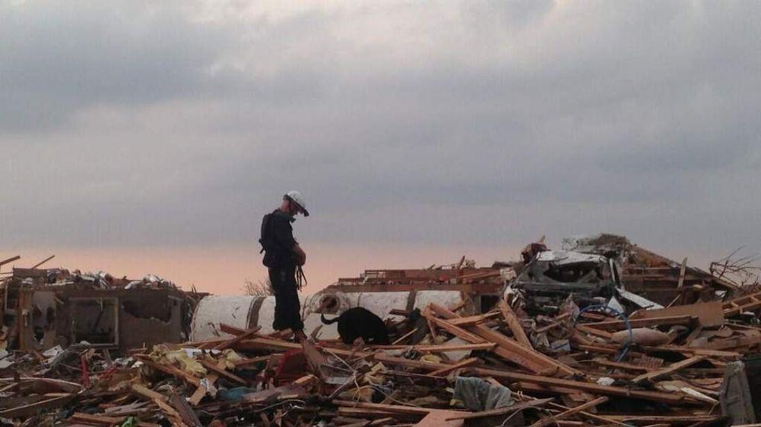 Tornado damge