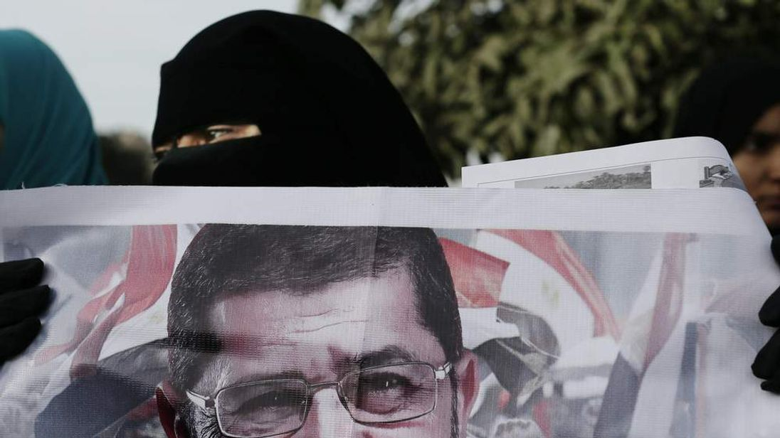 A Supporter of Egyptian President Mohammed Morsi in Cairo