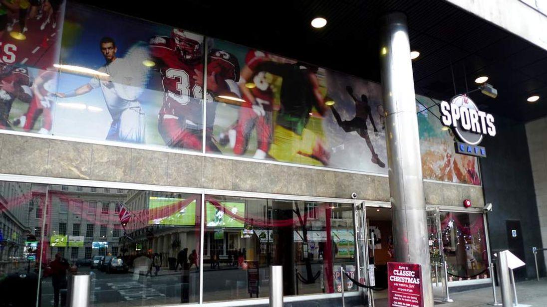 The Sports Cafe Haymarket. Photo courtesy of Ewan Munro