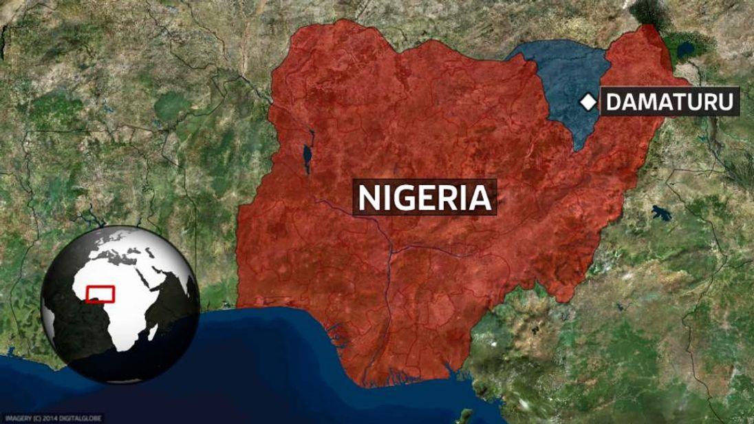 Damaturu in Nigeria