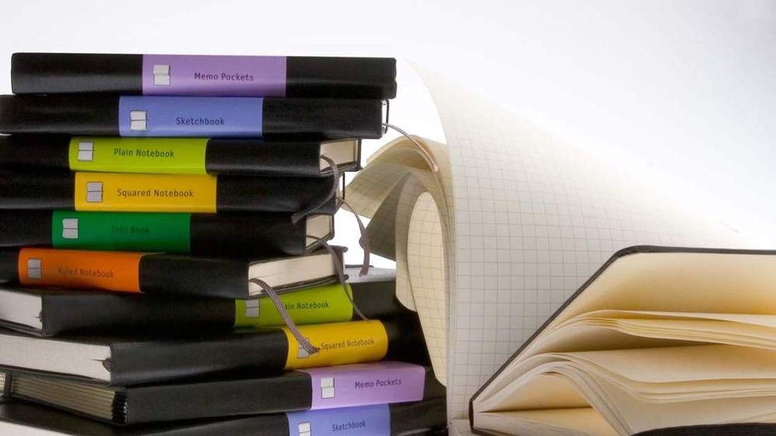 Moleskine notebooks. Pic: Moleskine