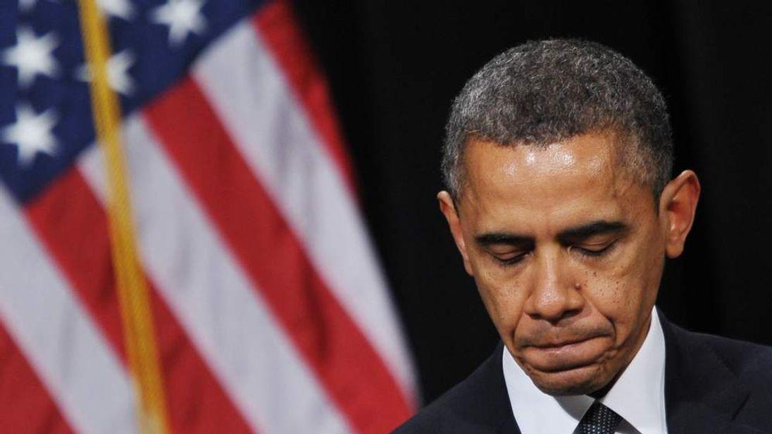 Barack Obama at Newtown vigil