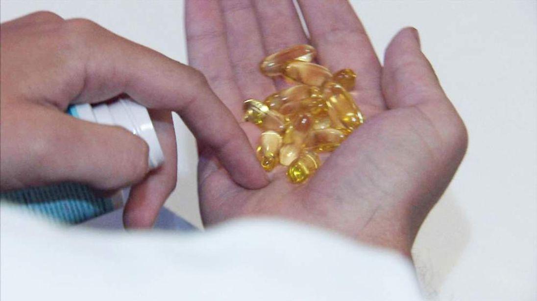 Omega-3 tablets