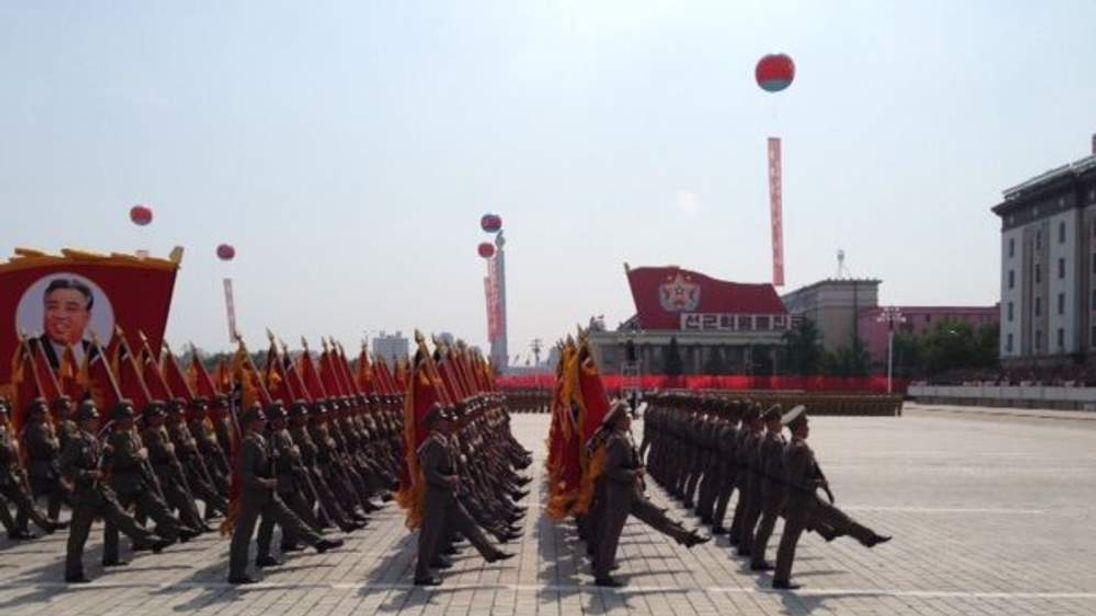 Pyongyang parade