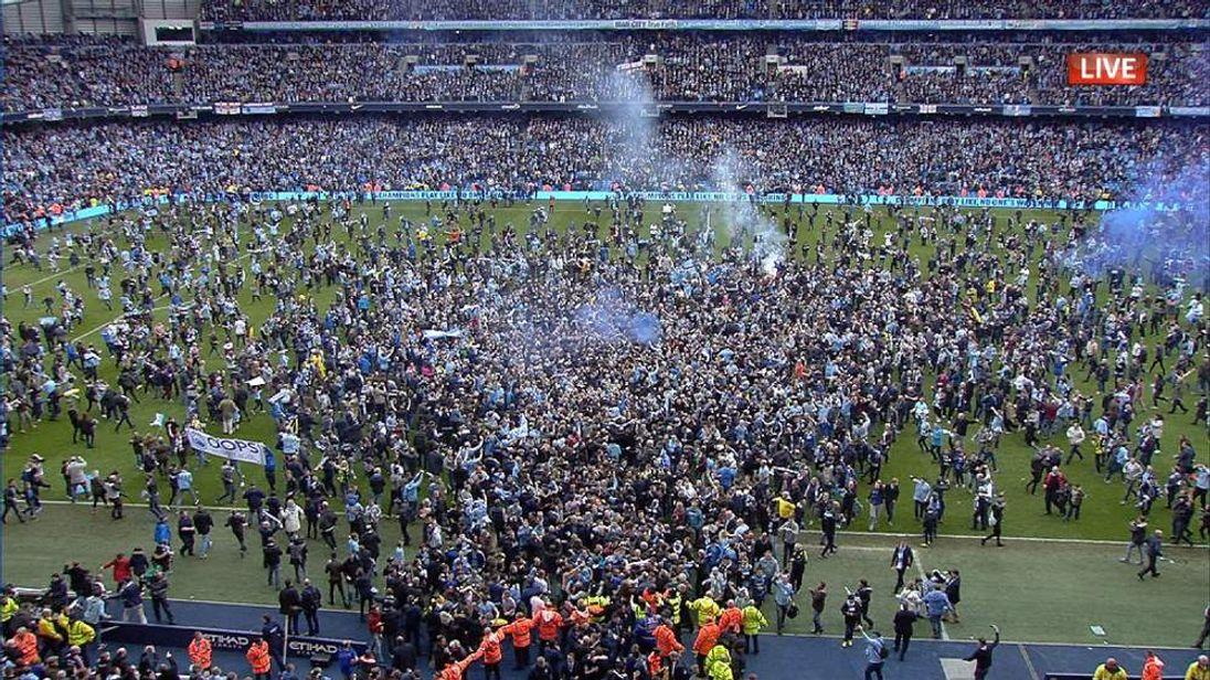 Manchester City Win Premier League Title