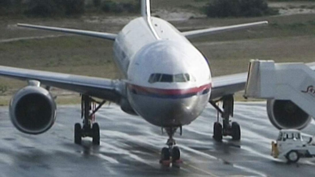 A Malaysian Airlines plane