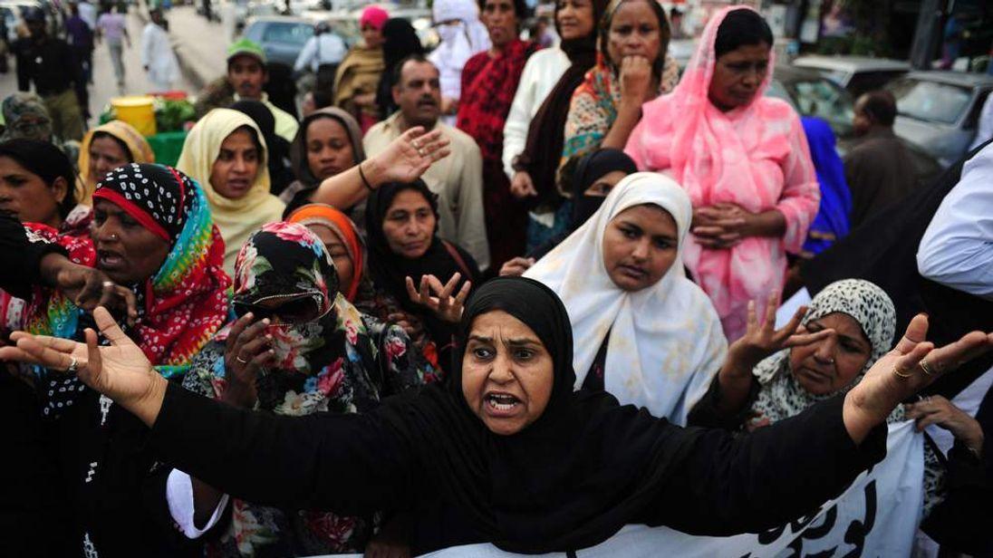Pakistan anti-polio campaign