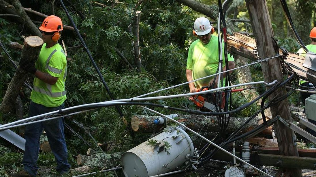 Storms cut power to millions