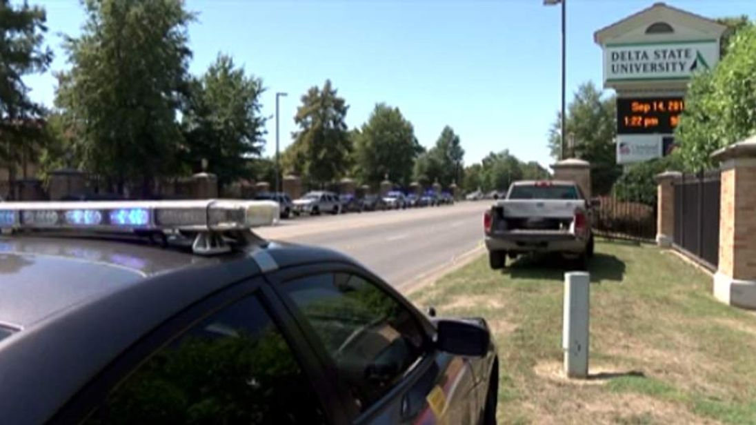 Discovery of professor's body prompts campus-wide lockdown at Delta State University in Cleveland, Mississippi