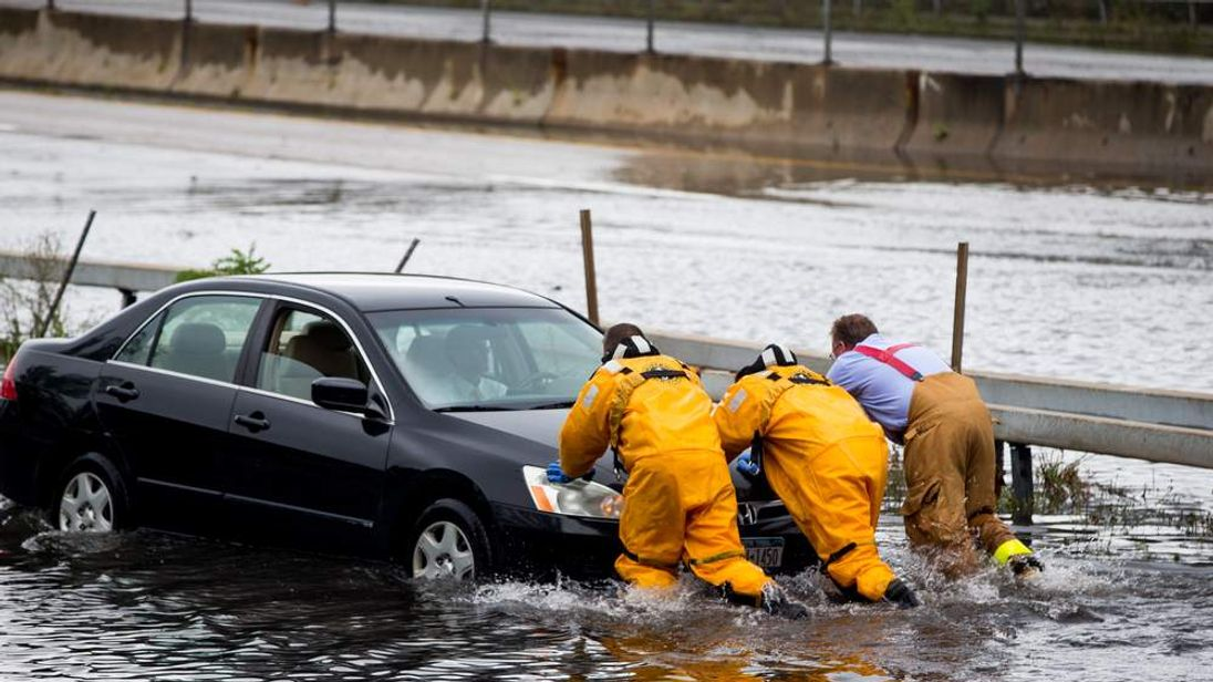 Long Island Flooded