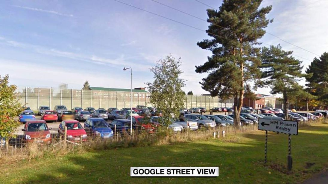 Google Street View image of HMP Ranby