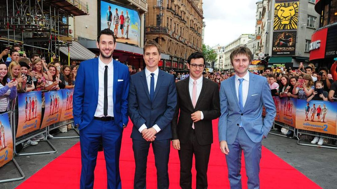 The Inbetweeners 2 premiere in London