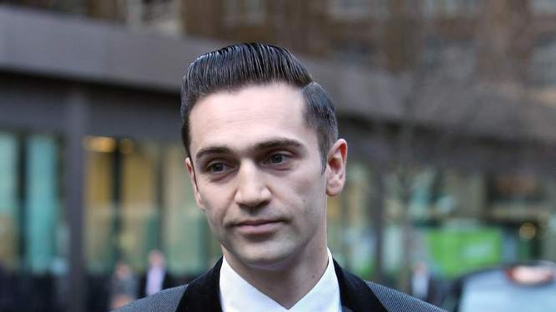 The boyfriend of late singer Amy Winehouse, Reg Traviss