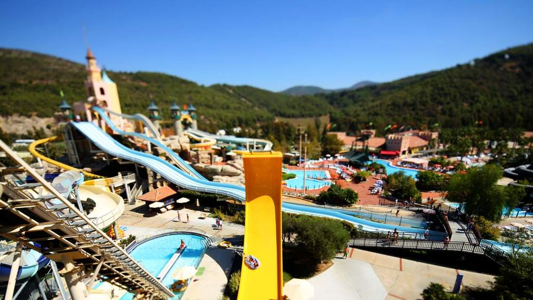 A waterpark.