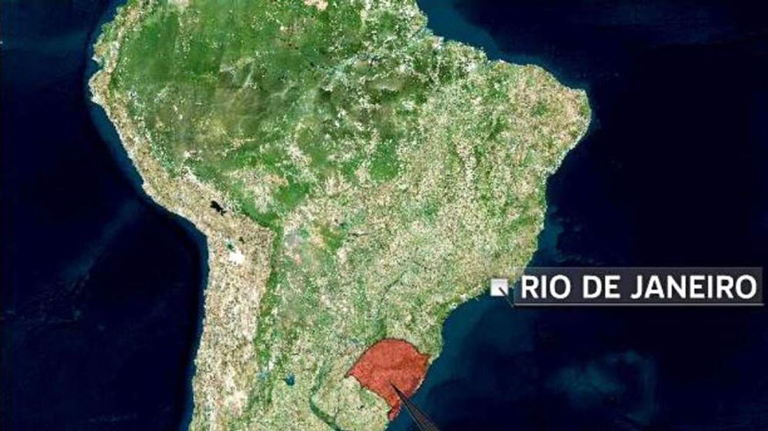 Rio Grande do Sul in Brazil