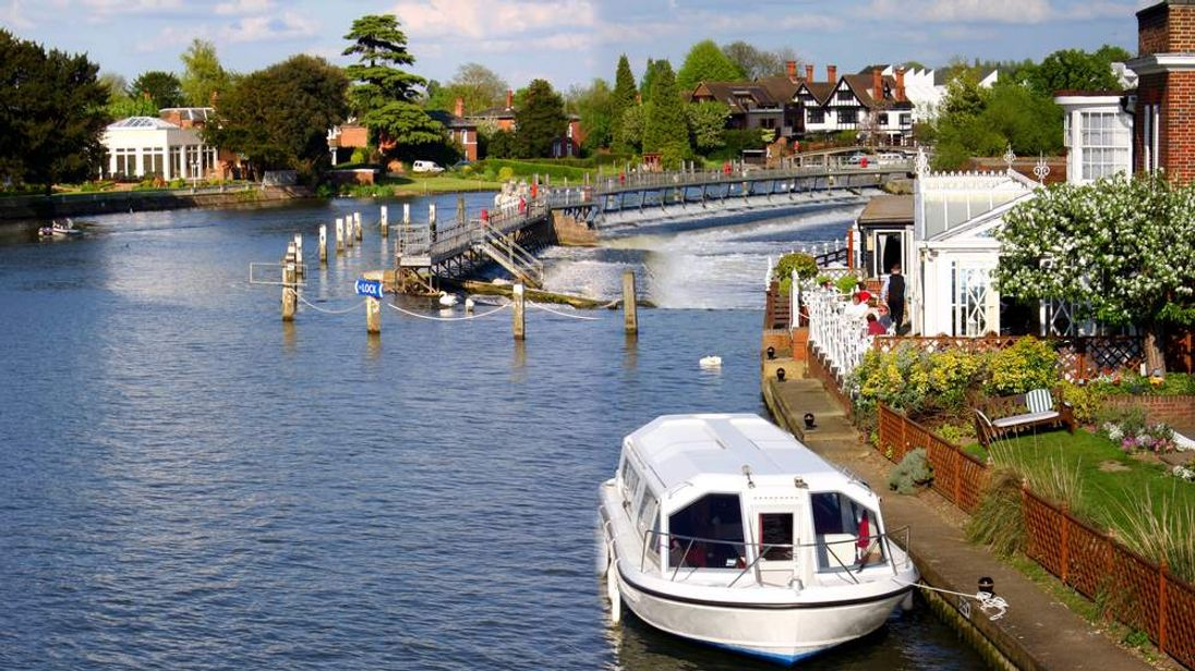The River Thames at Marlow