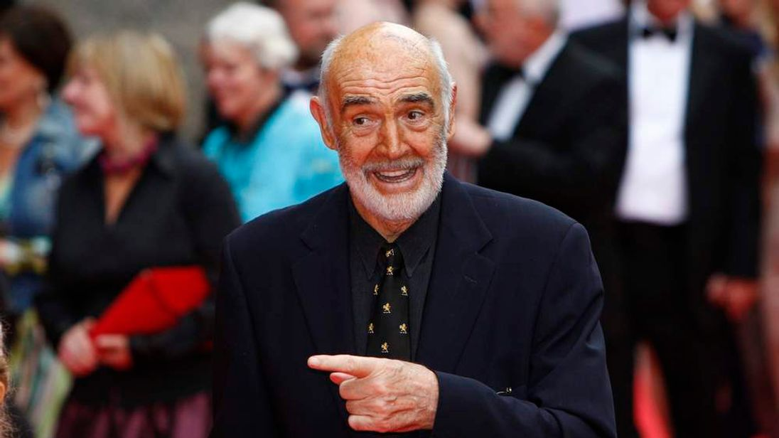 Actor Sean Connery arrives at the Edinburgh International Film Festival in 2010
