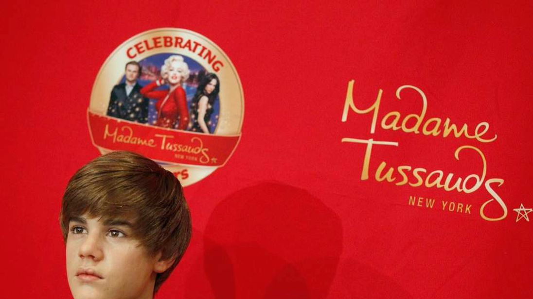 Justin Bieber model at Madame Tussauds