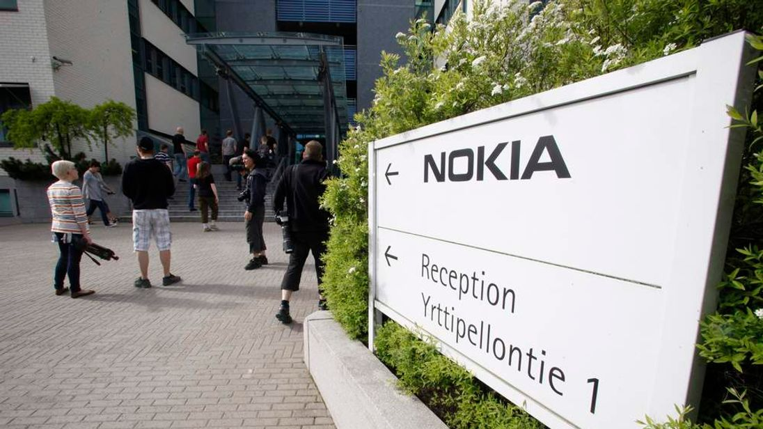 Nokia headquarters in Finland