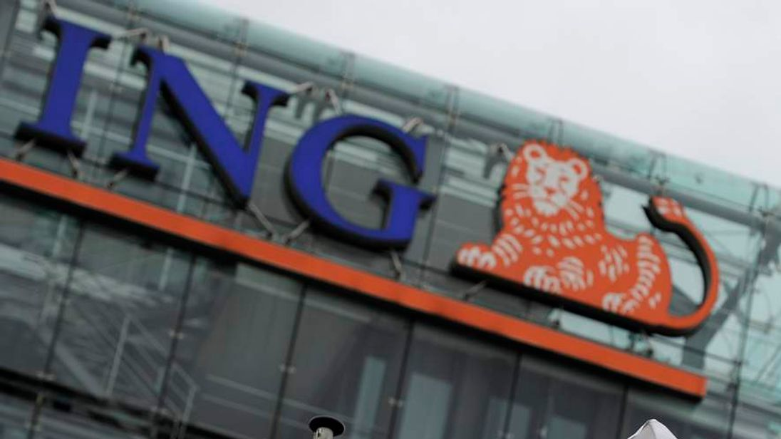 ING headquarters in Amsterdam