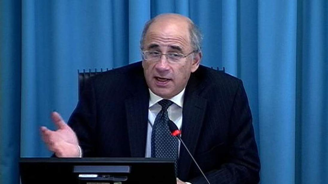 A still image from video shows Lord Justice Leveson speaking at the conclusion of the witness testimony phase of the Leveson Inquiry at the High Court in London