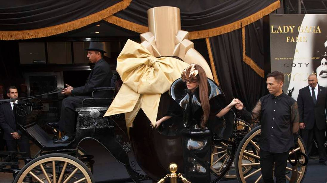 GAGA perfume Fame launched with tattoo
