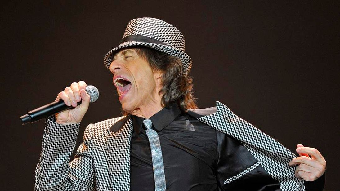 The Rolling Stones perform at the 02 Arena in London
