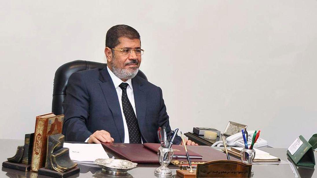 Egypt's President Mohamed Morsi